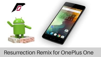 Resurrection Remix on OnePlus On