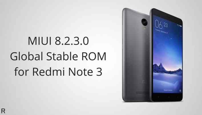 MIUI V8.2.3.0.MHOMIDL Global Stable ROM on Redmi Note 3 Qualcomm