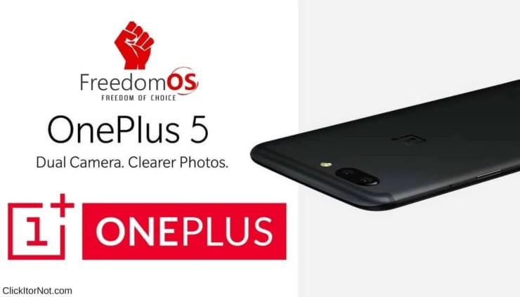 FreedomOS for OnePlus 5