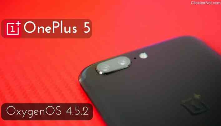 OxygenOS 4.5.2 (7.1.1) for OnePlus 5