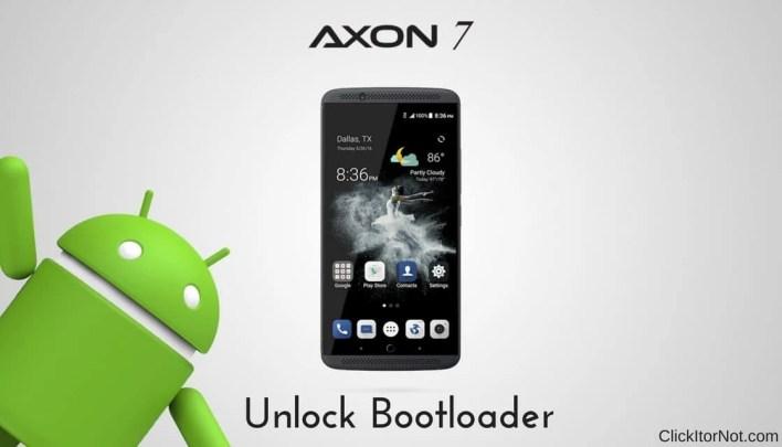 Unlock Bootloader of ZTE Axon 7