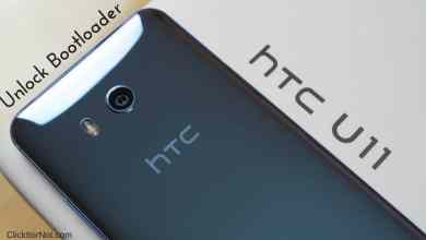 Unlock Bootloader of HTC U11