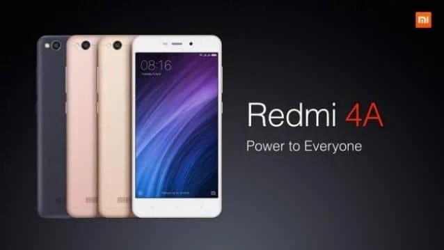 Unlock Bootloader of Redmi 4a