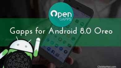 Gapps for Android 8.0 Oreo