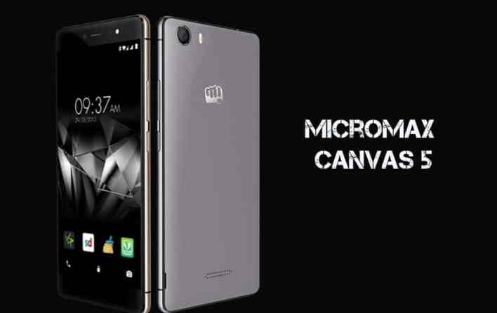 Unlock bootloader on Micromax Canvas 5