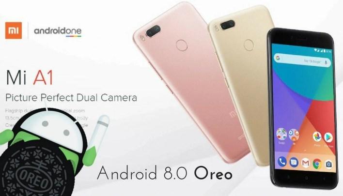 Android 8.0 Oreo on Xiaomi Mi A1