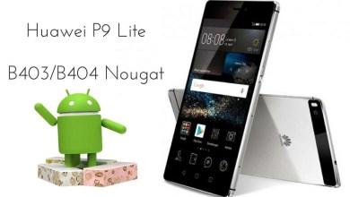 B404 Nougat on Huawei P9 Lite