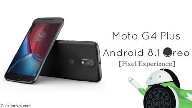 Android 8.1 Oreo on Moto G4/G4 Plus