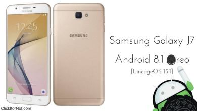LineageOS 15.1 on Galaxy J7 Prime based