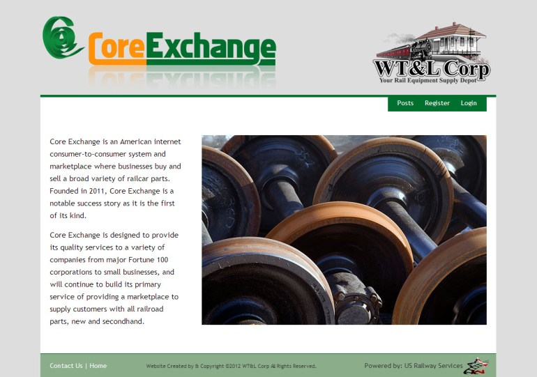 Core Exchange - Railroad Parts