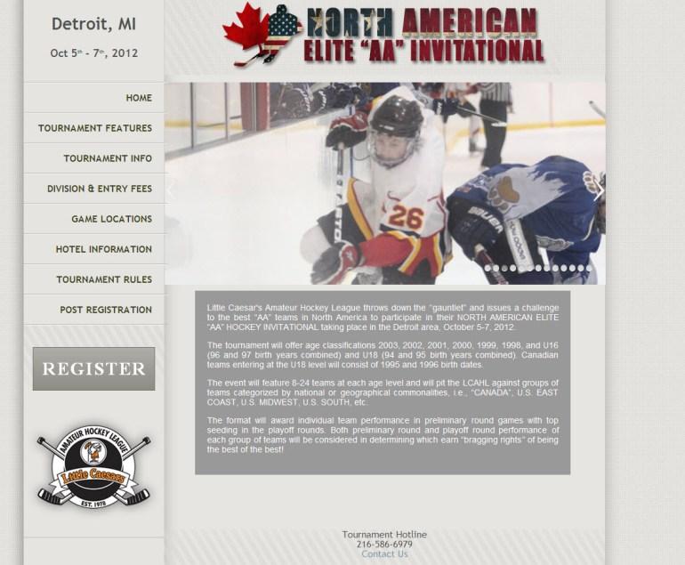 Elite Hockey Tournaments