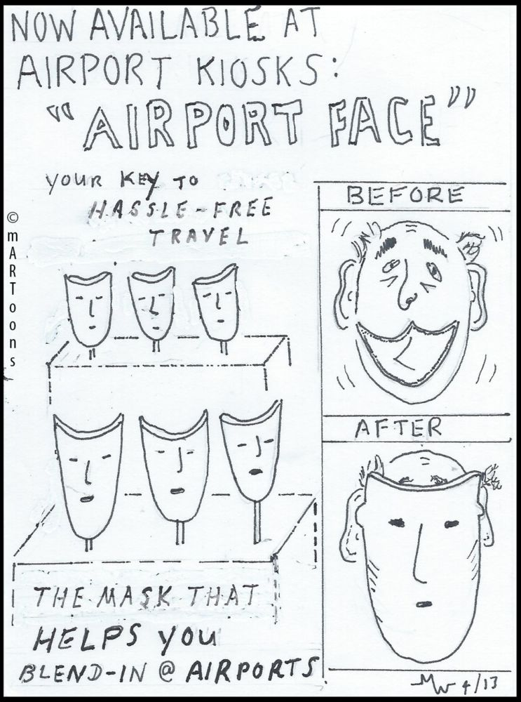 MT#13 Airport Masks by Martin West