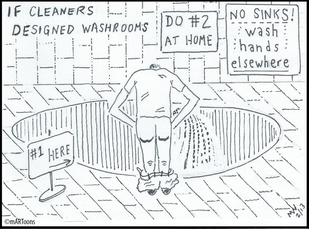 MT#22 Cleaner-Designed WC by Martin West