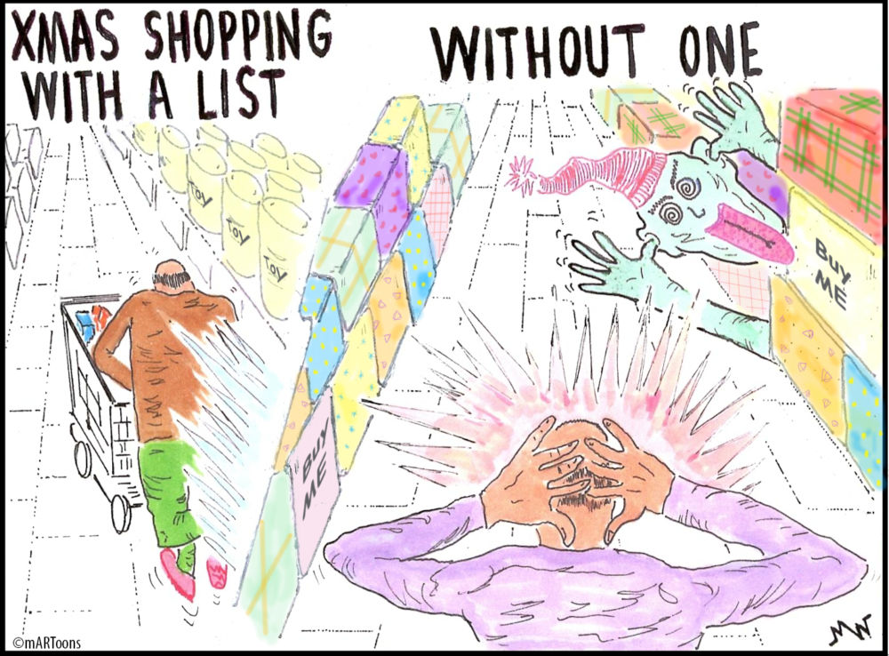MT#104 No List Shopping