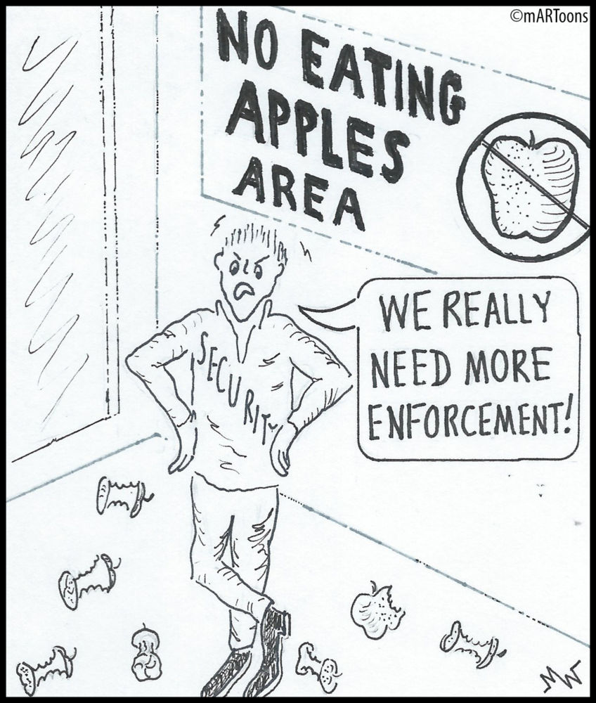 MT#184 No Apple Area by Martin West