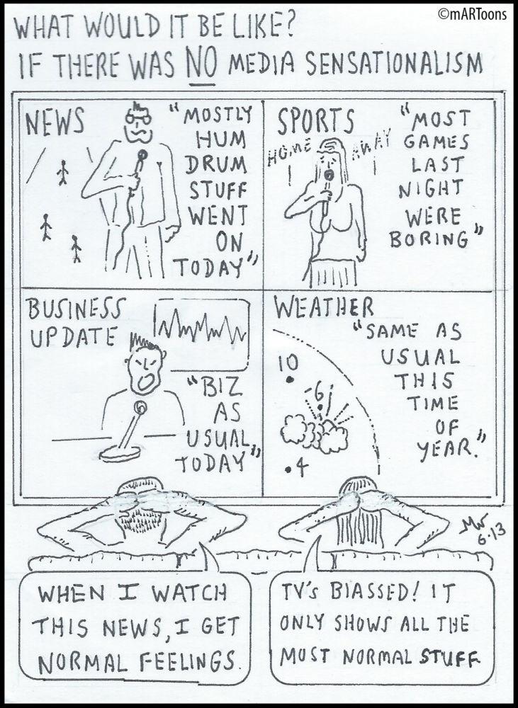 MT#220 Unsensational News by Martin West