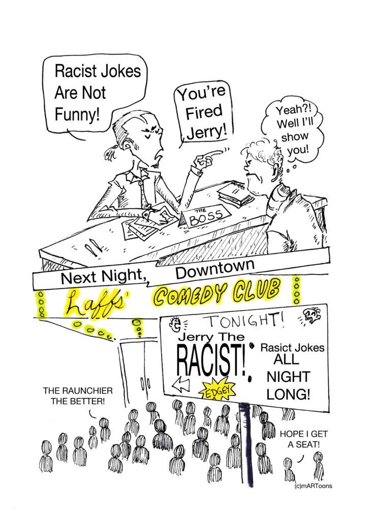 MT#224 Jerry the Racist by M. West & Tia