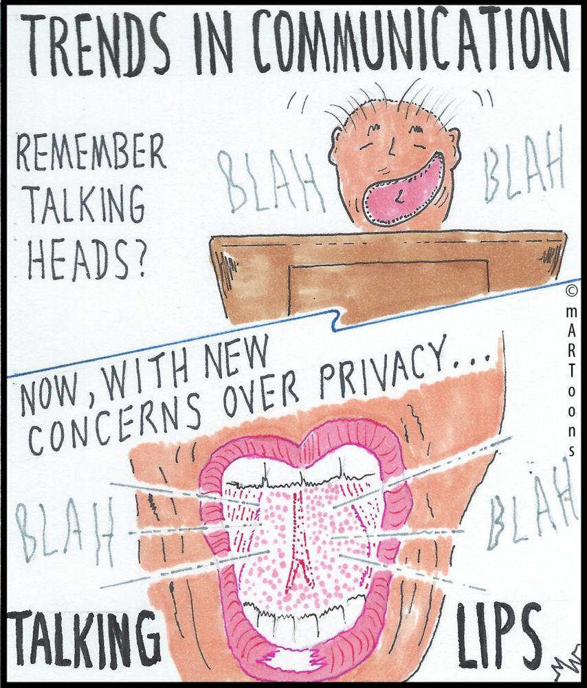 MT#233 Talking Lips by Martin West