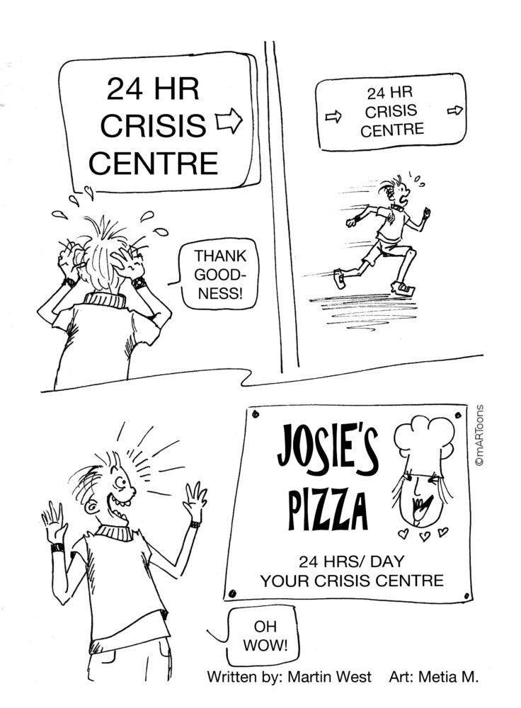 MT#245 Crisis Centre by Martin West & Tia