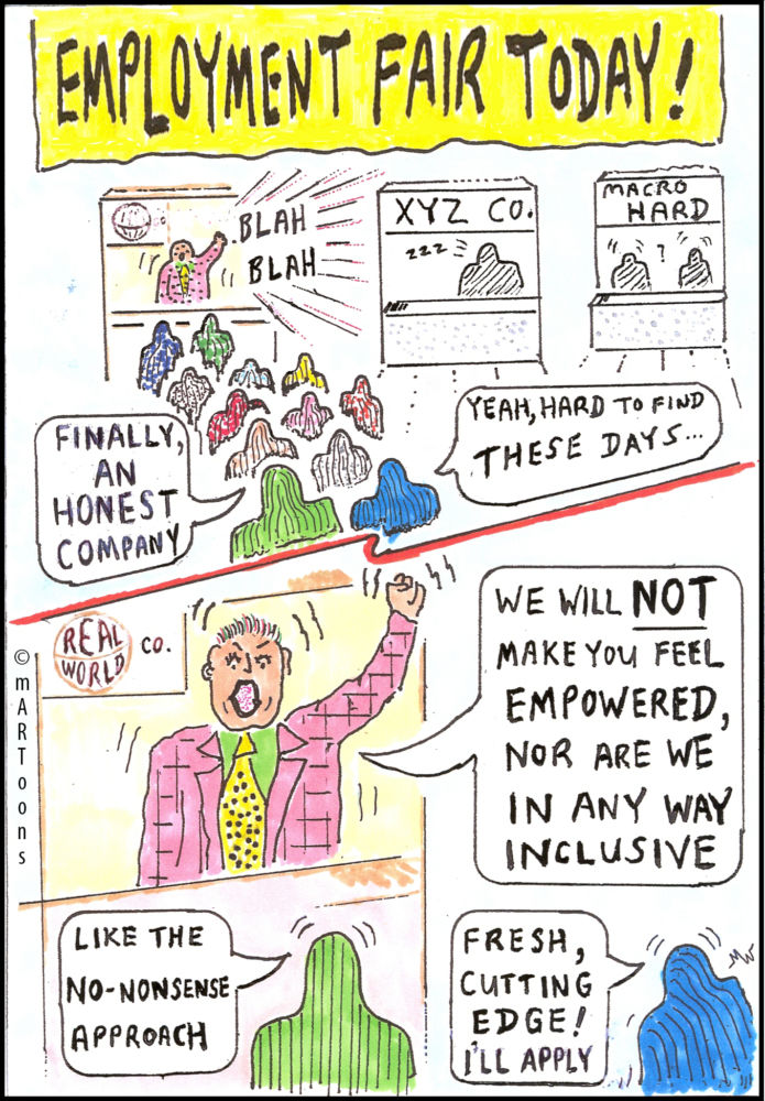 MT#258 Job Fair by Martin West