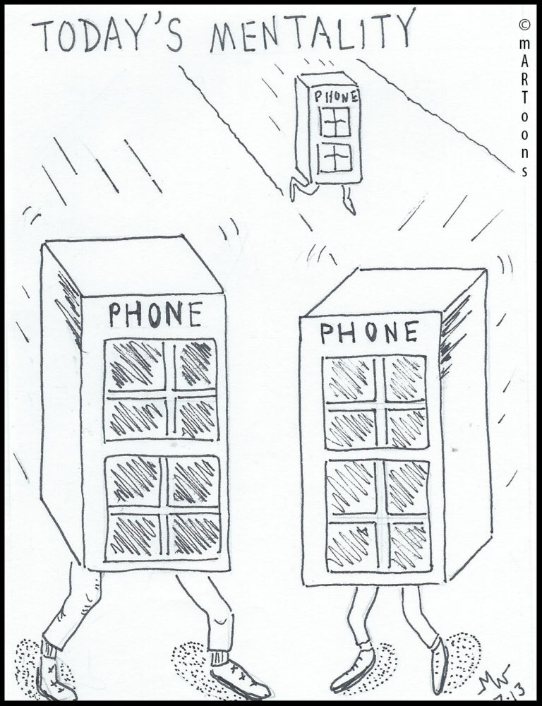 MT#275 Phone Mentality by Martin West