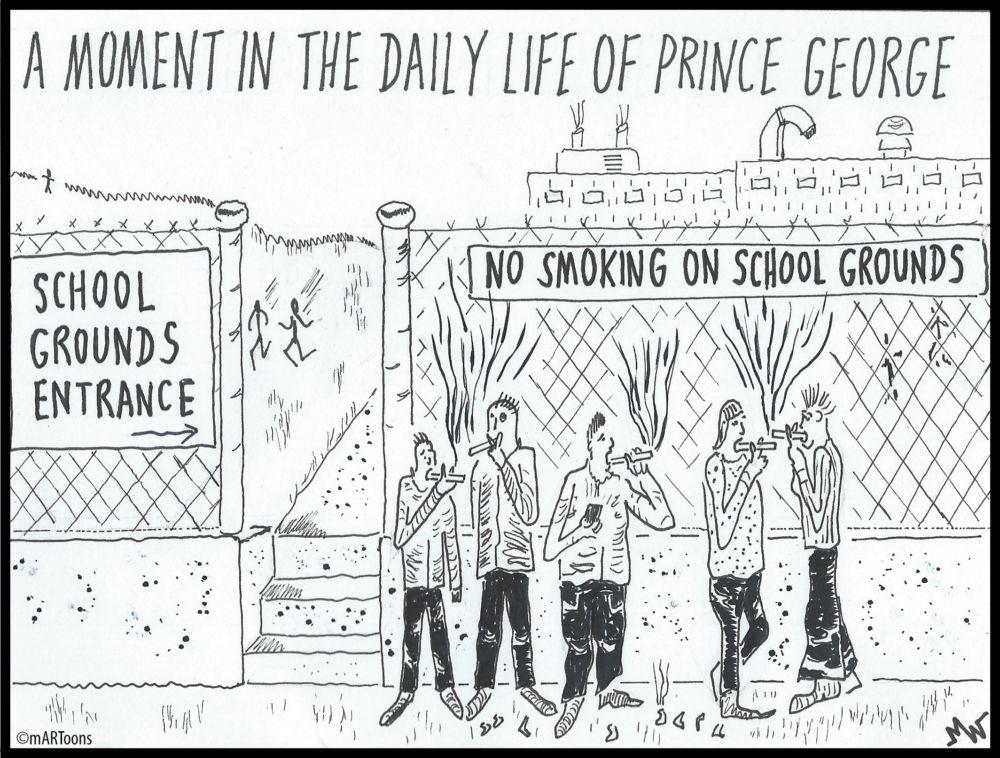 MT#380 Smoke Zone by Martin West