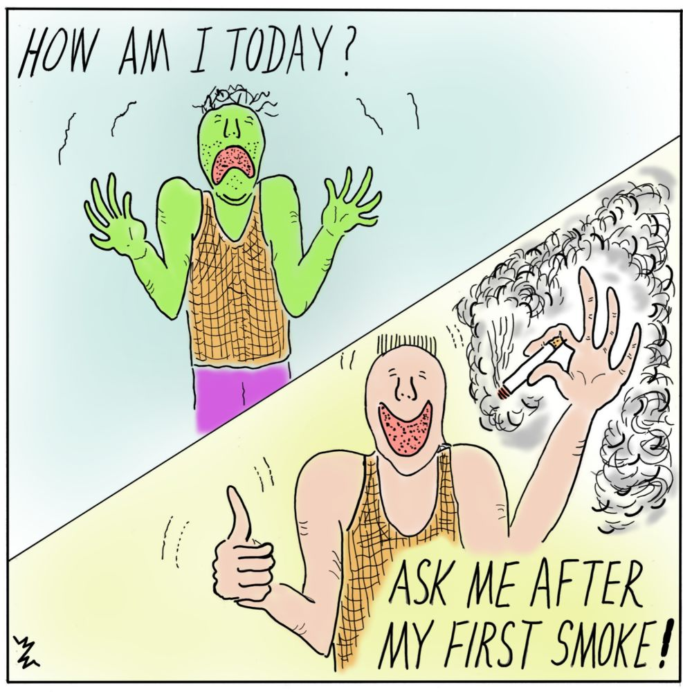 MT#701 Smoking Calendar #7