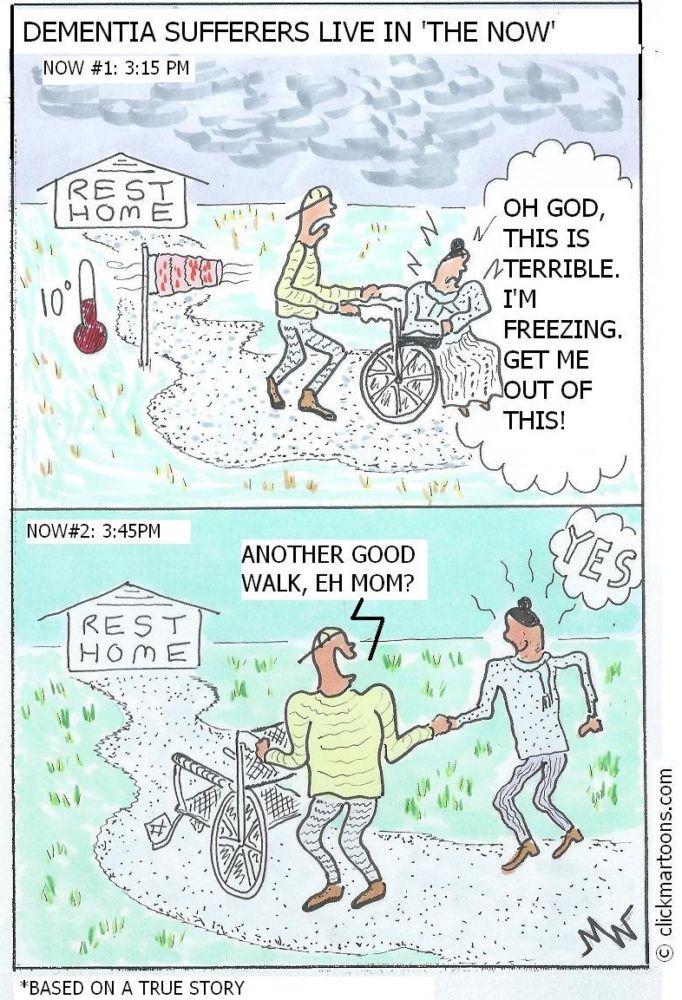 MT#723 Dementia Cartoons: Now vs. Now