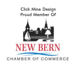 Click Mine Design are members of the New Bern NC Chamber of Commerce
