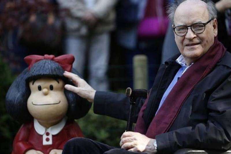 morre cartunista quino, criador da personagem mafalda