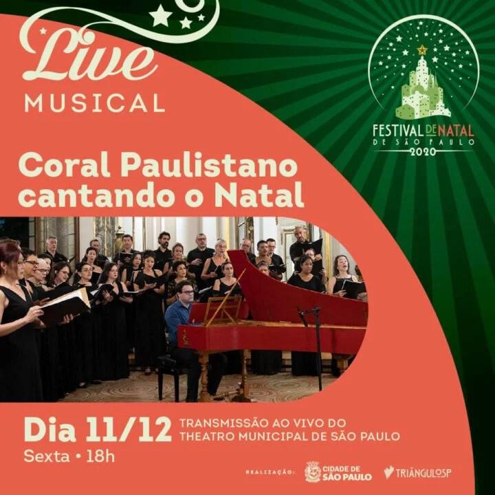 Começa hoje o Festival de Natal de São Paulo
