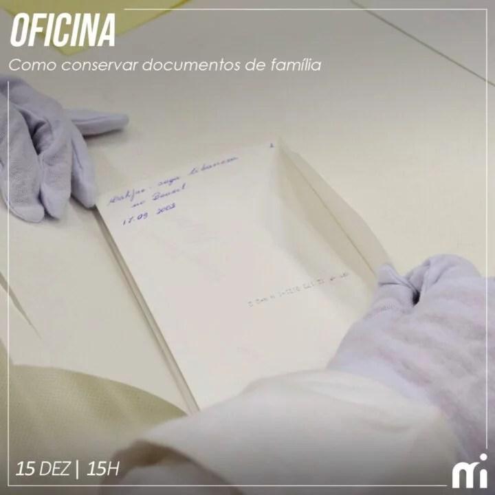 """Museu da Imigração oferece oficina de preservação """"como salvar documentos da Família"""" Grátis"""