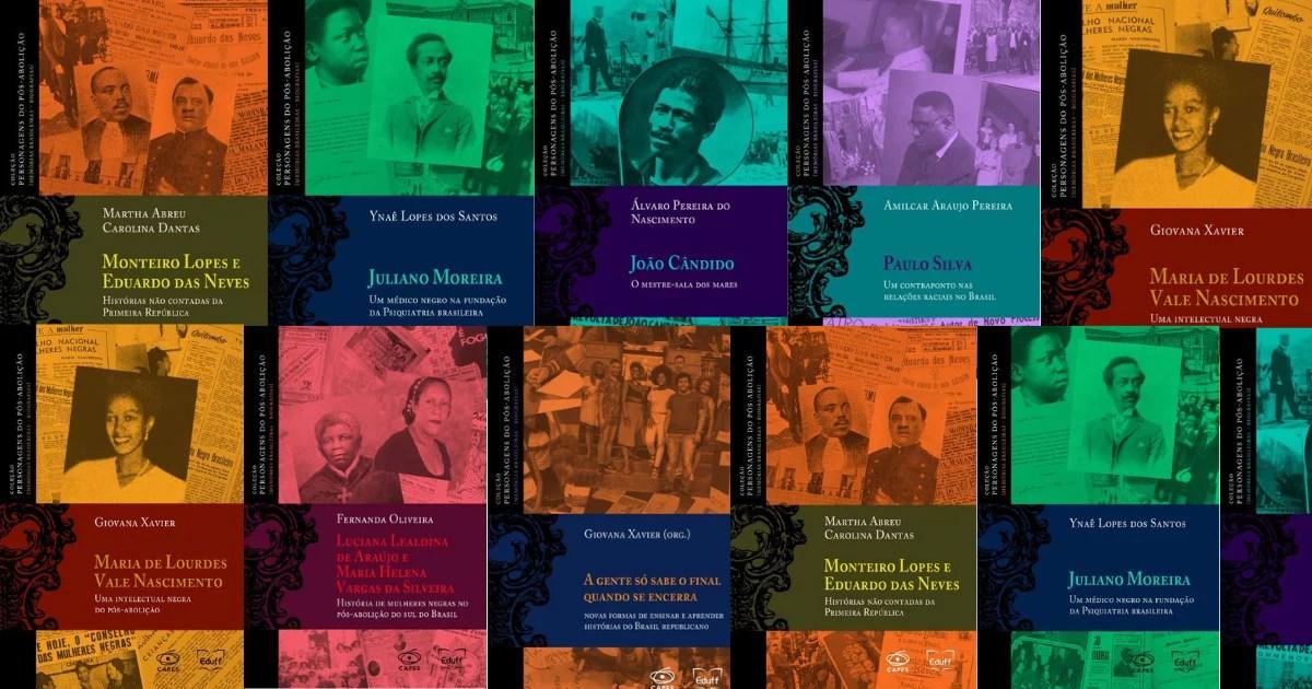 Baixe GRÁTIS 7 livros PDfs sobre a Pós-Abolição