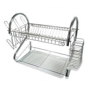 16-Inch Chrome Dish Rack