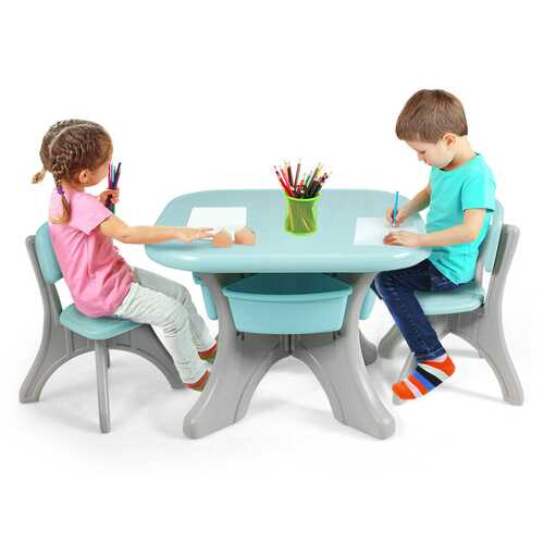 Kids Activity Table-Chair Set