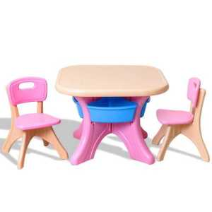 Plastic Play Table- Chair  Set