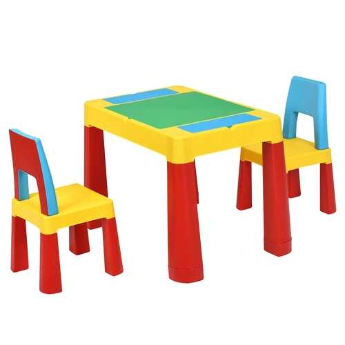 7-in-1 Kids Activity Table Set
