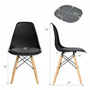 4Pcs Dining Chair set
