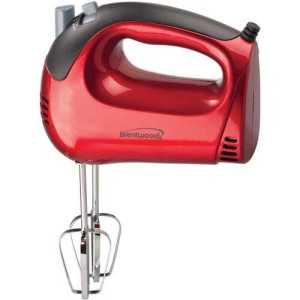 Electric Hand Mixer(Red)