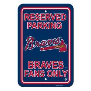 Atlanta Braves Plastic Sign