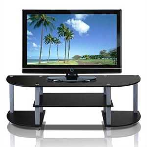 Grey and Black TV-Stand Contemporary with free home delivery.