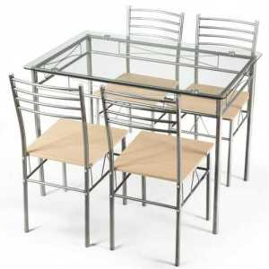 Dining Set Glass Table