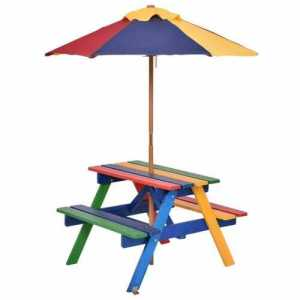 4-Seat Kids Picnic Table