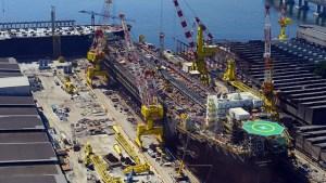 Indústria naval já despediu 50 mil em decadência desenfreada e com bilhões em dívidas