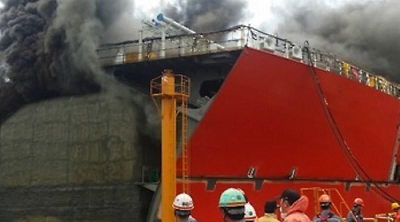 Acaba de falecer 3° vítima da explosão no navio-sonda da Odebrecht