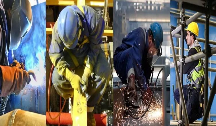 Soldadores, pintores, montadores, caldeireiros são os profissionais que serão convocados em breve