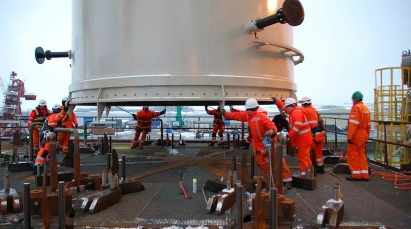 Vagas offshore para ajudantes