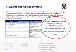 CSE Macaé Rio das Ostras