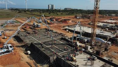 construção de termoelétrica na UTE