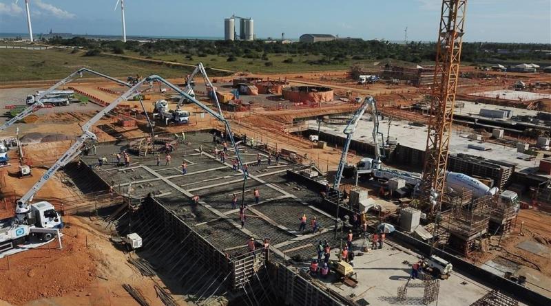 Resultado de imagem para obra porto GNA Açú